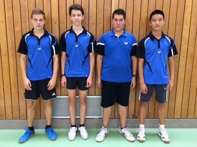 Jungen U18 I - Vorrunde  2016/17