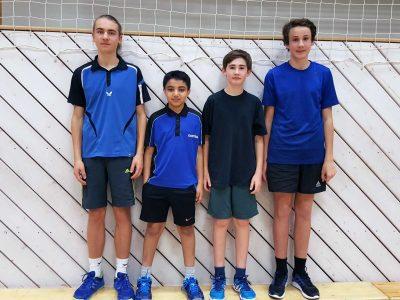 Erste Punkte für Jungen U18 I und U18 III
