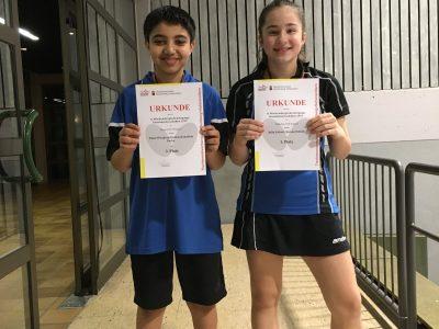Württ. Einzelmeisterschaften Jugend 2019